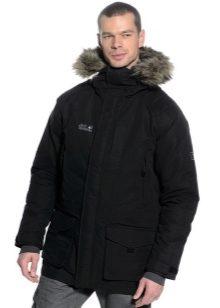 Vīriešu ziemas jakas (99 fotogrāfijas): parki, dūnu jakas