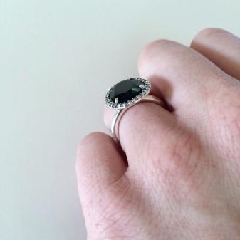 pandora anello pietra di luna