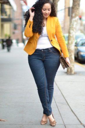 Jeans pour grosses filles