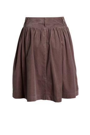 Que porter avec une jupe en velours?