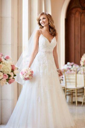 Vestido de novia blanco 2019 - Elegante clásico