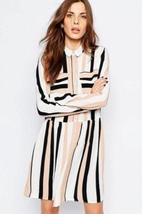 Robe longue chemise