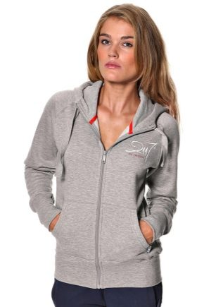 Stylish hoodies with zippers