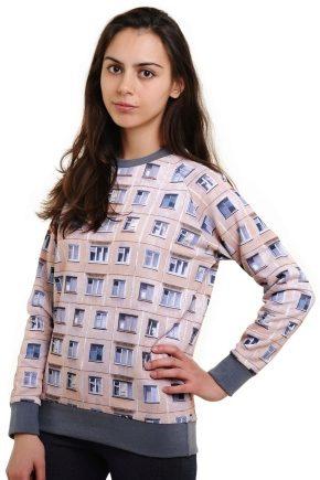Le sweatshirt c'est ...