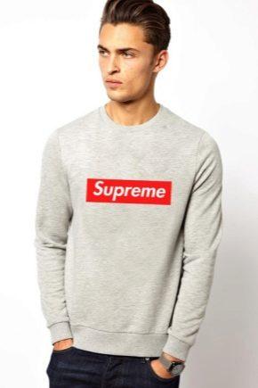 Sweat-shirts de Supreme: des modèles pour personnalités brillantes