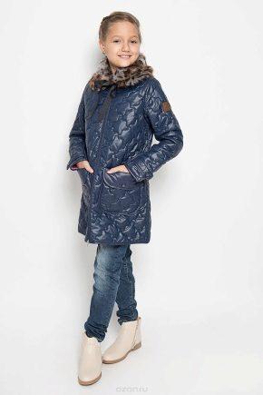 Cappotto trapuntato per ragazze