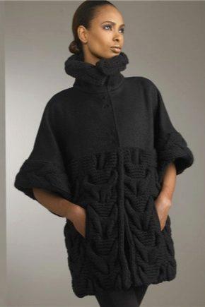 Cappotto lavorato a maglia da donna alla moda 2019