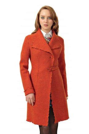Cappotto da donna di lana cotta