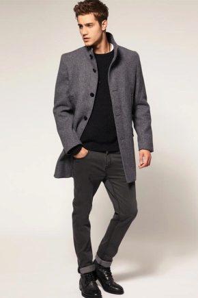 Manteau court pour hommes