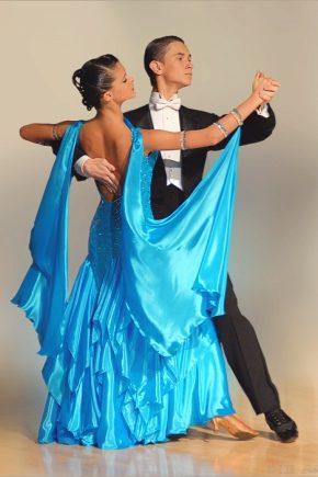 Trajes de baile de salón