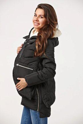 Blouson aviateur pour femme enceinte