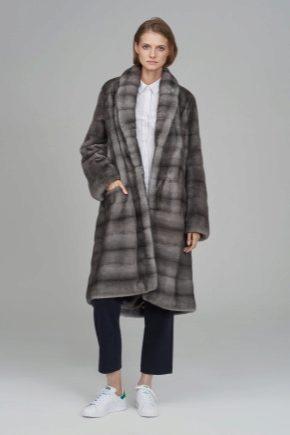 Kelabu bulu kelabu: warna bergaya dan model popular