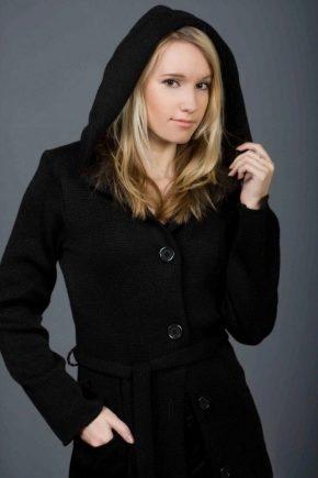 Manteau d'hiver à capuche