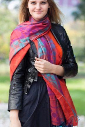 Sjal og tørklæde
