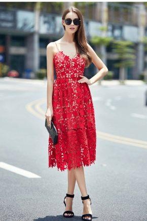 Vestido Rojo Con Zapatos Rojos 67 Fotos Qué Zapatos Se