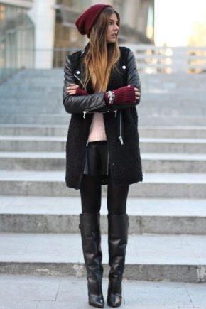 Bottes d'hiver haute pour femmes