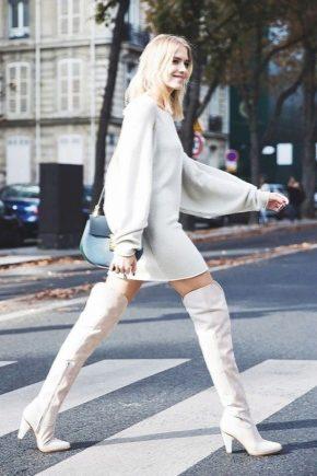 Que porter avec des bottes blanches?