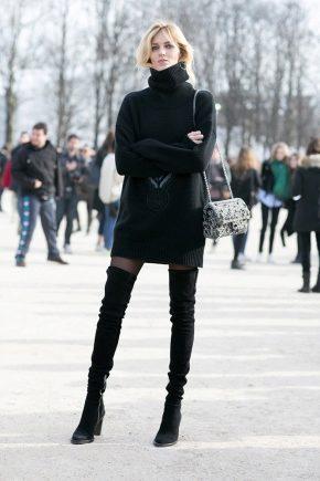 Que porter avec des bottes noires?
