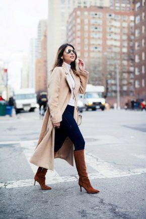 Que puis-je porter avec des bottes marron?