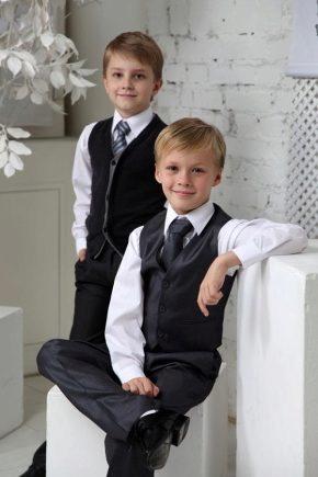 Chaussures d'école pour garçons