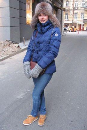 Bottes d'hiver pour femmes en fourrure naturelle