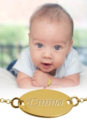 Bracelet en or pour enfants