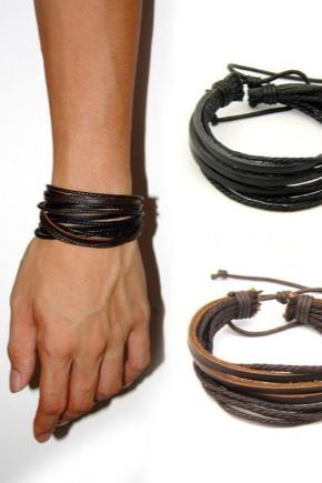 Bracelets en cuir pour hommes