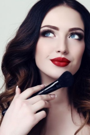 Maquillage carré