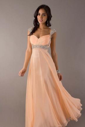 Makeup Peach Dress