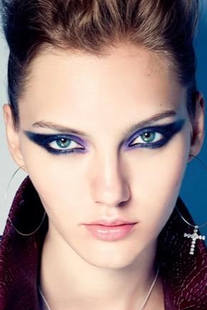 Maquillage de style rock
