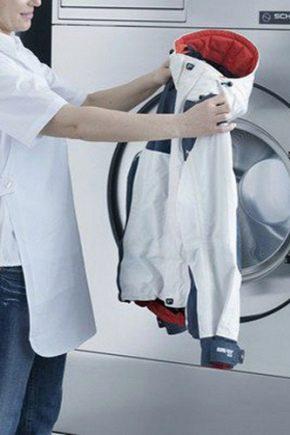 Comment laver les vêtements à membrane dans une machine à laver?