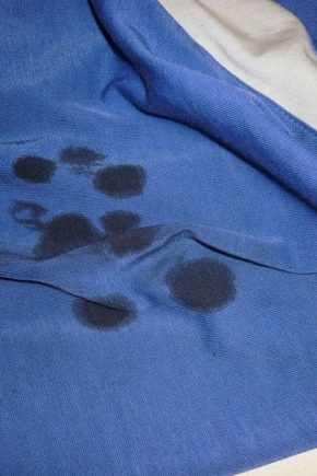 Recommendations for removing fuel oil stains from clothing