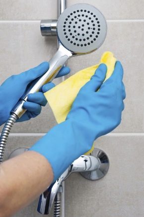 How To Clean The Shower Stall From Lime Scale At Home