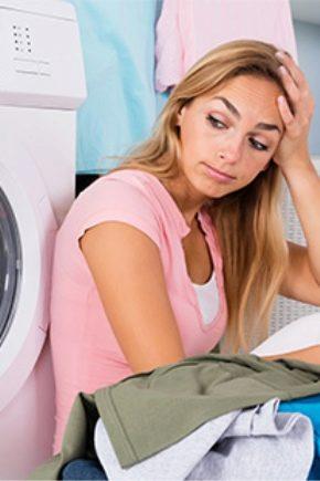 Règles pour laver les choses fanées