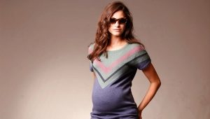 Jeans for pregnant women with their own hands