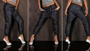 Elastic jeans at the bottom