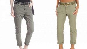 Pantalonii prietenului feminin