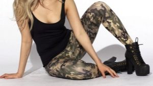 Pantaloni mimetici da donna