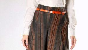 Longues jupes chaudes pour l'automne et l'hiver