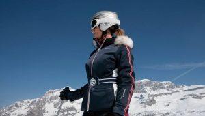 Ski jackets: male and female