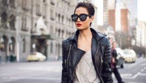 Vestes en cuir à la mode pour femmes de l'usine Kalyaev