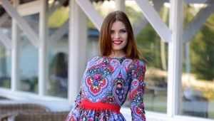 Dresses in Russian style - create a bright image!