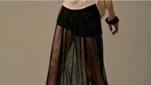 Jupe transparente: caractéristiques et quoi porter?