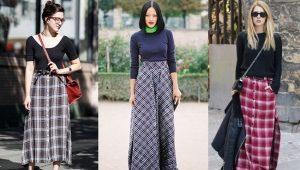 Comment porter une jupe longue dans une cage?