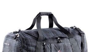 Bolsas de viaje deportivas: modelos sobre ruedas, con asa, grandes.