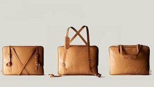 Elegante borsa trasformante per uomo e donna
