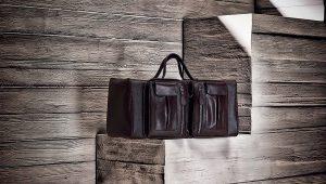 Bolsos de viaje de cuero con estilo