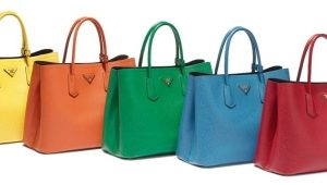 Bags from famous brands
