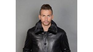 Les vestes en cuir d'hiver pour hommes sont la tendance de cette année.