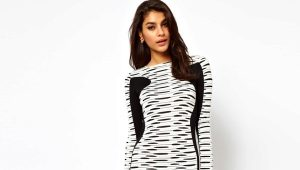 Black and white dress - fashion trend of the season